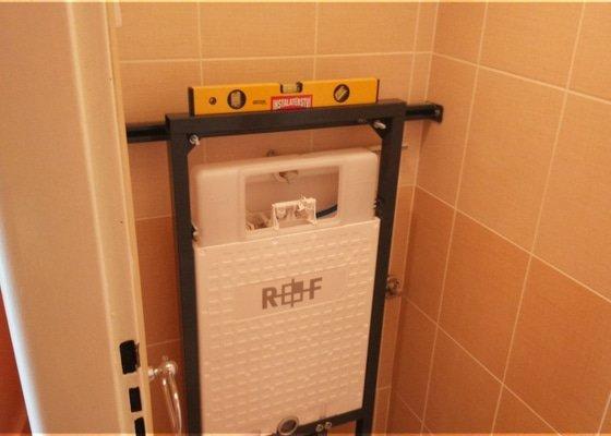 Instalace závěsného WC