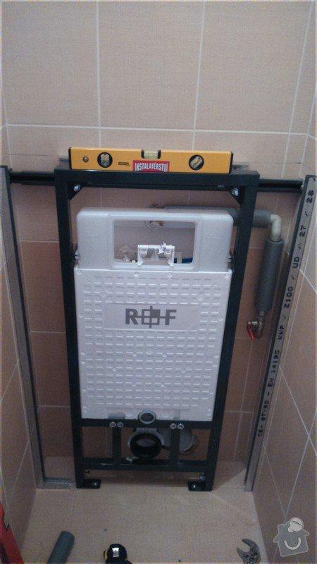 Instalace závěsného WC: DSC_0381