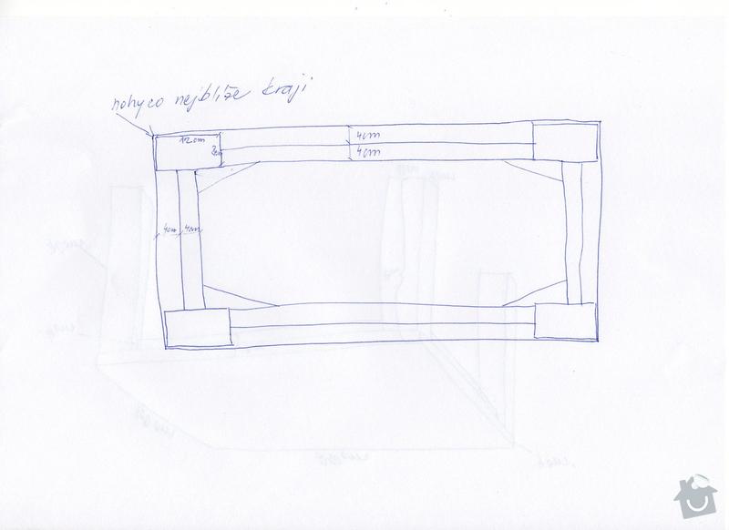 Dubový jídelní stůl: img033