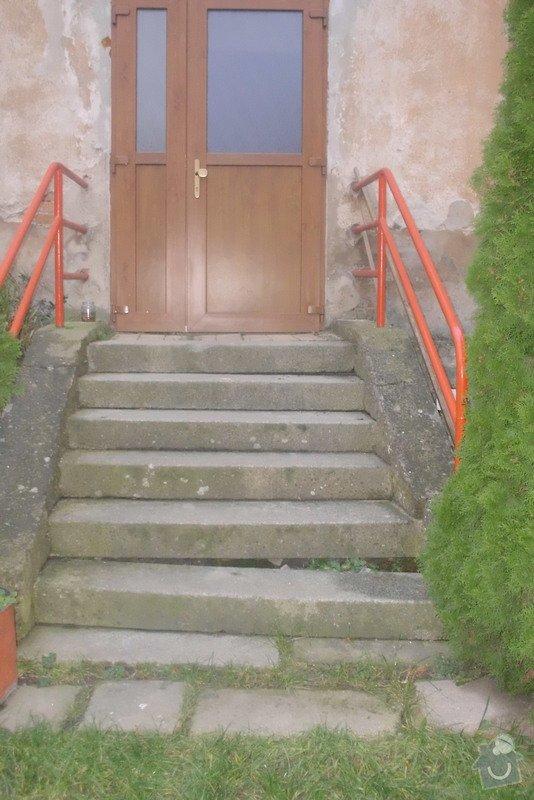Oprava schodů u domu vedoucích na zahradu: DSCI3553