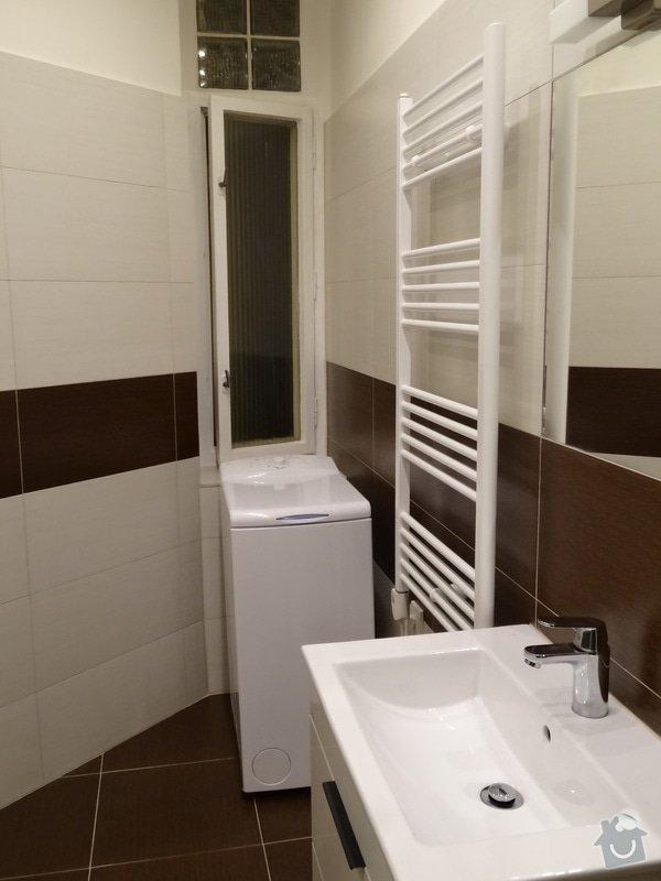 Rekonstrukce koupelny a WC: DSC07659