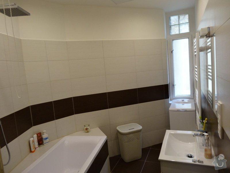 Rekonstrukce koupelny a WC: DSC07736