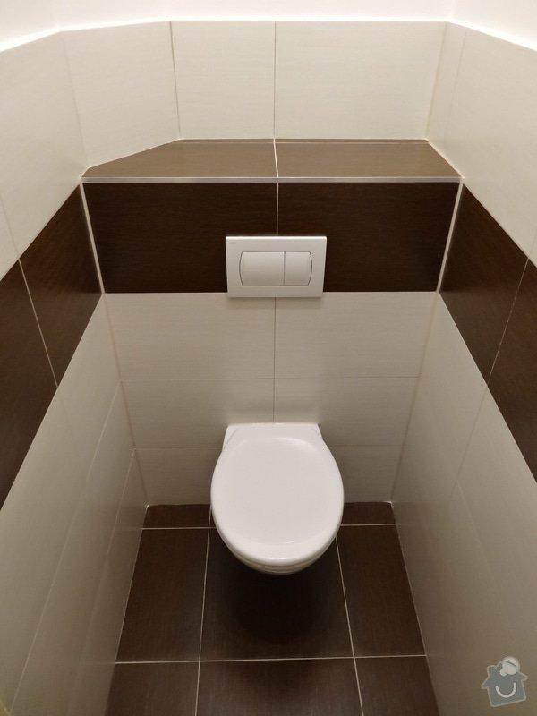 Rekonstrukce koupelny a WC: DSC07726