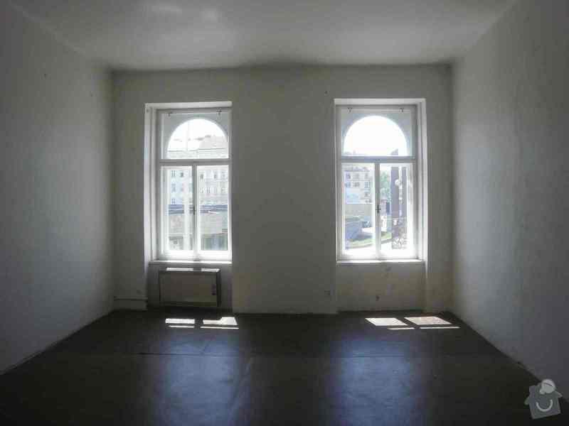 Oprava + nátěr oken, dveří: P6090317