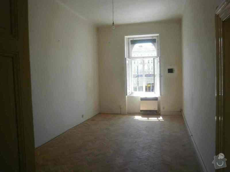 Oprava + nátěr oken, dveří: P6090320