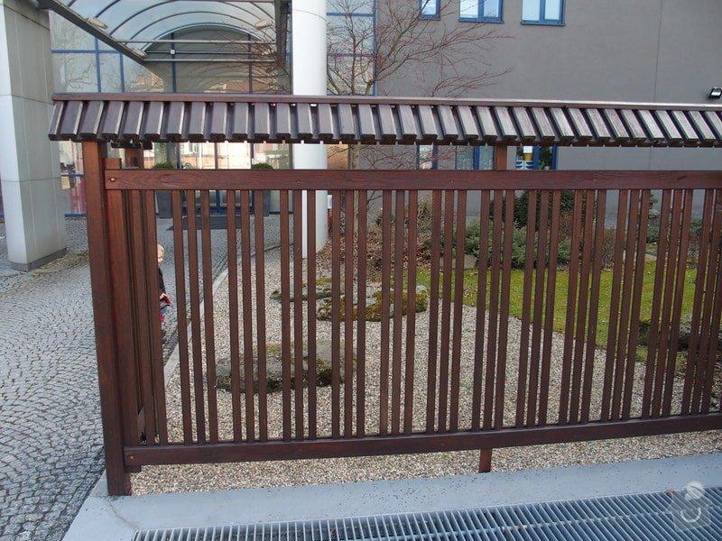 Dřevěný plot 19m: P2262151