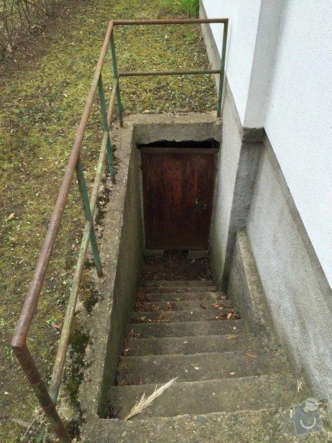 Oprava podbití, oprava vstupu do šachty,posunutí drátěného plotu: VstupSeverni2