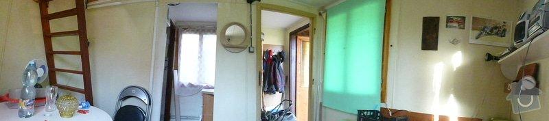 Obložení vnitřku malé chaty palubkami, asi 60m2: P1010981
