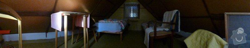 Obložení vnitřku malé chaty palubkami, asi 60m2: P1010983