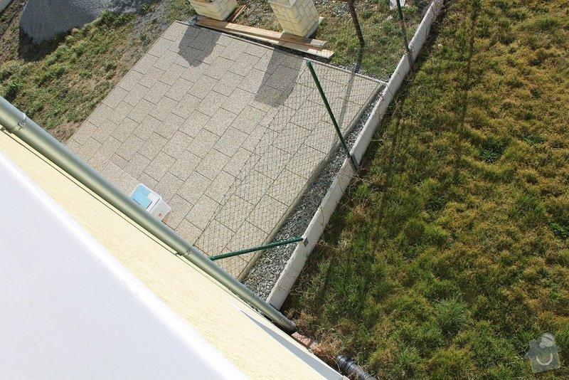 Zahradní terasa: dlažba ve štěrkovém loži: 2