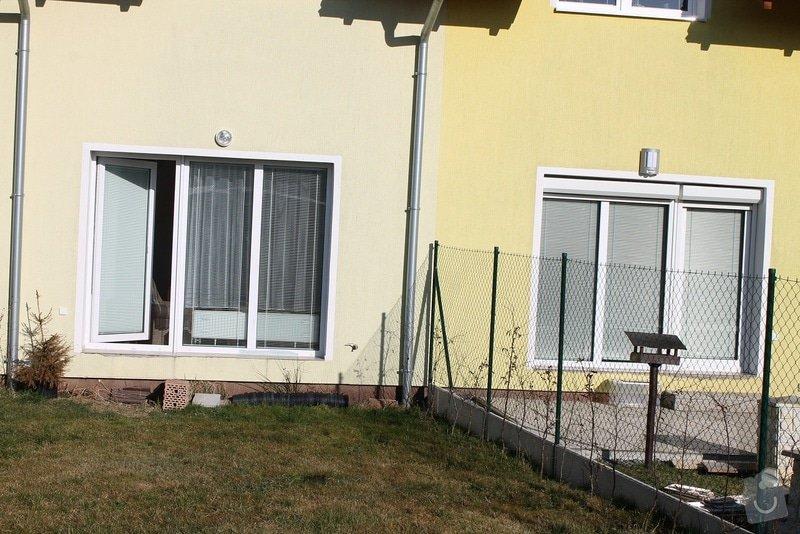Zahradní terasa: dlažba ve štěrkovém loži: 4