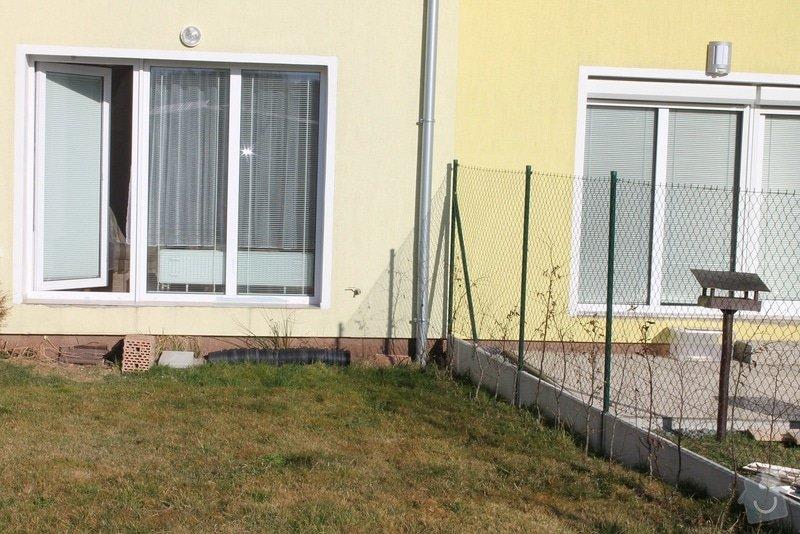 Zahradní terasa: dlažba ve štěrkovém loži: 5