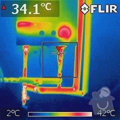 Kompletní rekonstrukce rozvodů elektřiny, topení (radiátory + podlahovka), zabezpečovací zařízení: Kotel_IR