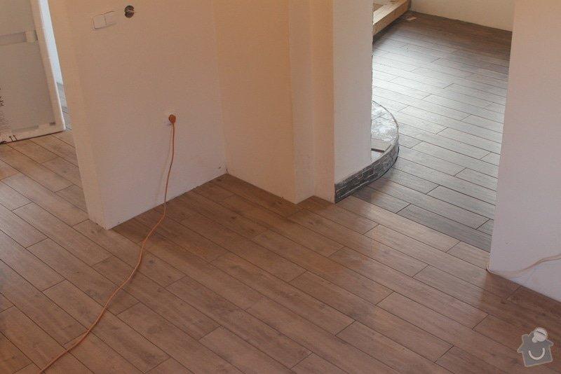 Kompletní rekonstrukce rozvodů elektřiny, topení (radiátory + podlahovka), zabezpečovací zařízení: Podlaha