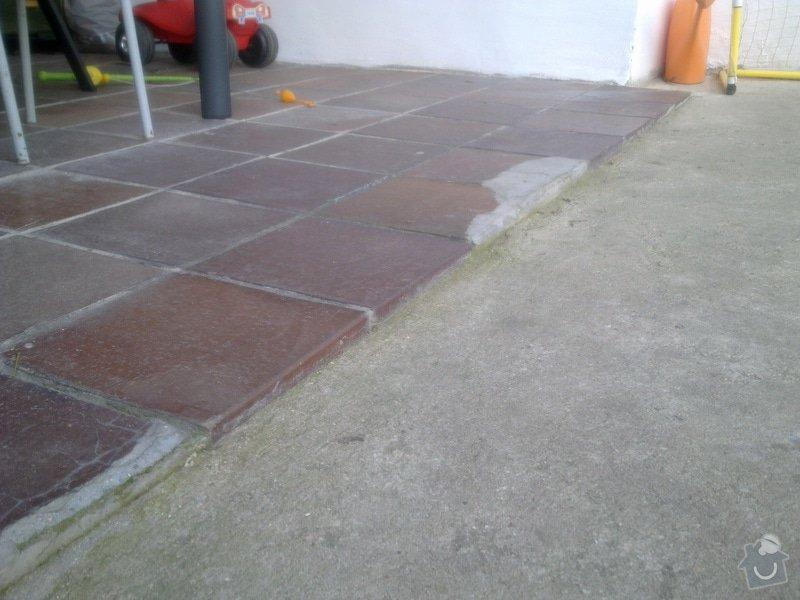 Broušení betonové terasy: Terasa_2