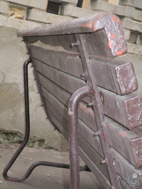 Oprava / renovace zahradního nábytku: lavicky_004