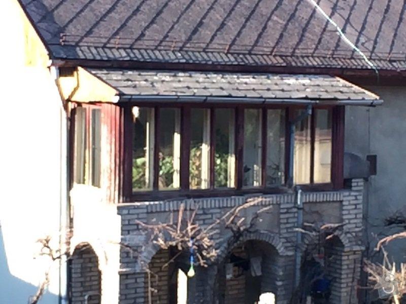 Rekonstrukce verandy včetně střechy: IMG-20150329-WA0001