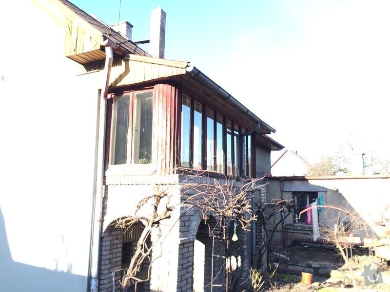 Rekonstrukce verandy včetně střechy: IMG-20150329-WA0005