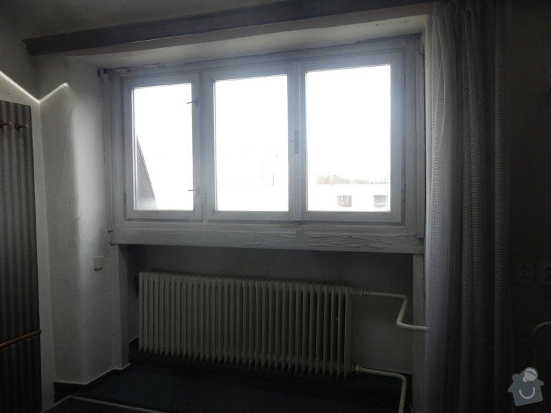 Obložení stěny a podhledu kolem okna: DSCN8262