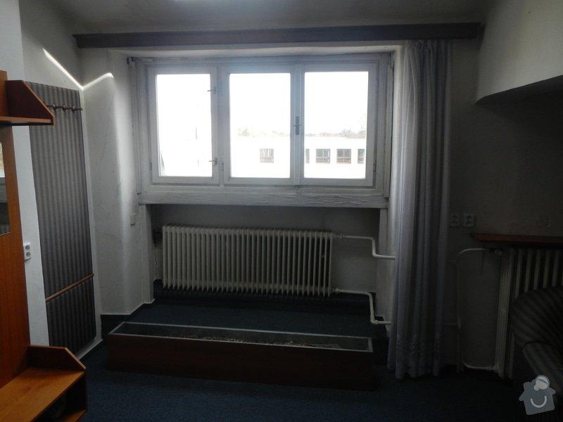 Obložení stěny a podhledu kolem okna: DSCN8264