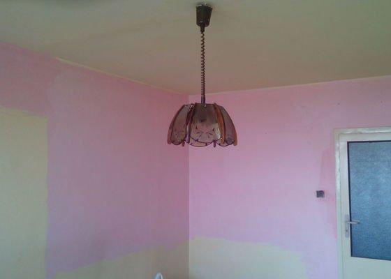 Malovani, položeni podlahy, vymena garnyže, prahu a dveři to vse zatim jen v jednom pokoji v panelovem byte.