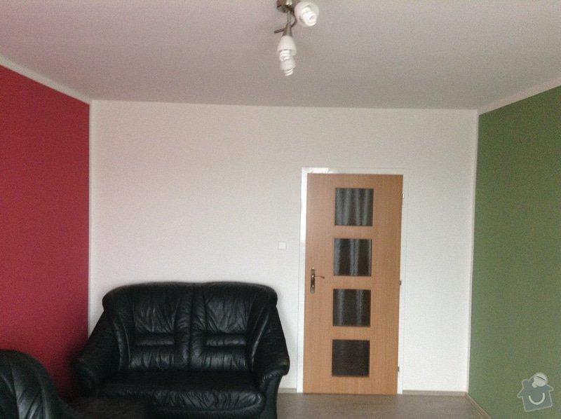 Malovani, položeni podlahy, vymena garnyže, prahu a dveři to vse zatim jen v jednom pokoji v panelovem byte.: IMG_0564