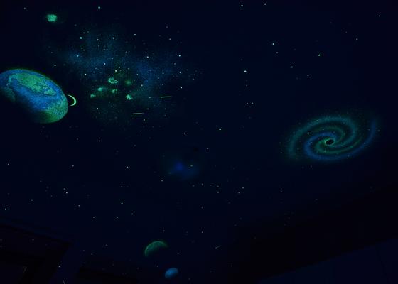 Narozeninové překvapení v podobě noční oblohy