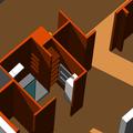 Rekonstrukce bytoveho jadra detail koupelny