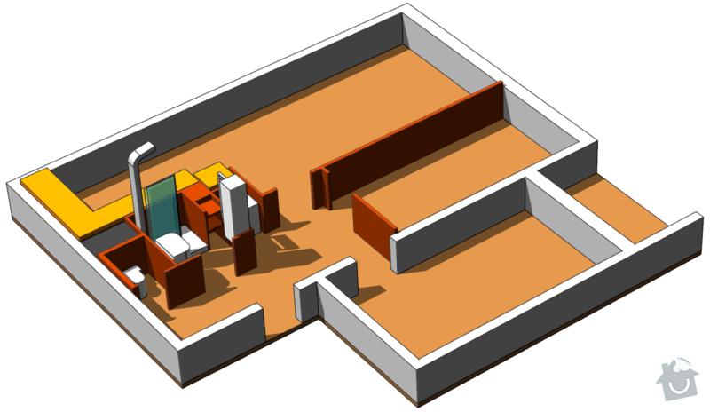 Rekonstrukce bytového jádra: koncepce