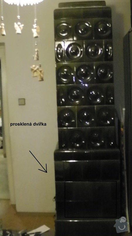 Krbová kamna z kachlových kamen: S1080003