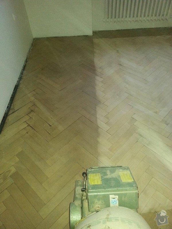 Renovace parket v bytě  75metrů čt.: 20150116_081459
