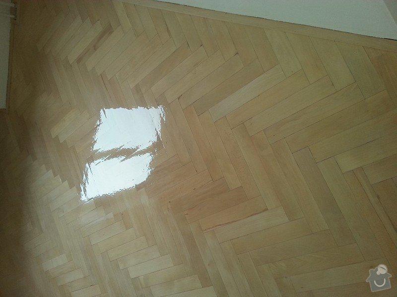 Renovace parket v bytě  75metrů čt.: 20150118_113410