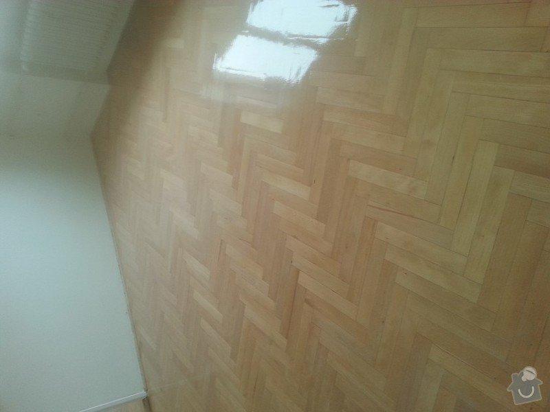 Renovace parket v bytě  75metrů čt.: 20150118_114353