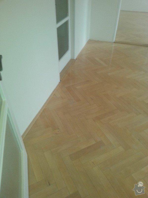 Renovace parket v bytě  75metrů čt.: 20150118_114358