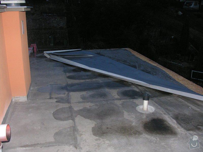 Oprava foliové střechy: poskozena_strecha