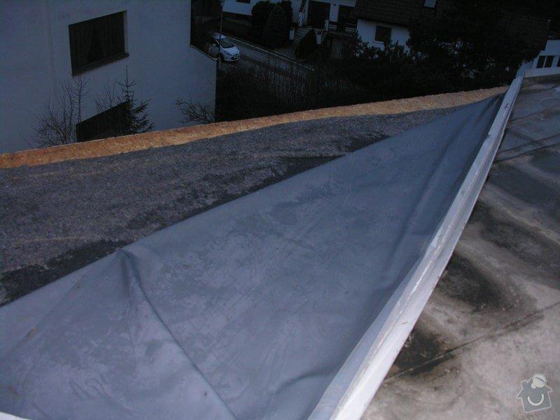 Oprava foliové střechy: poskozena_strecha2