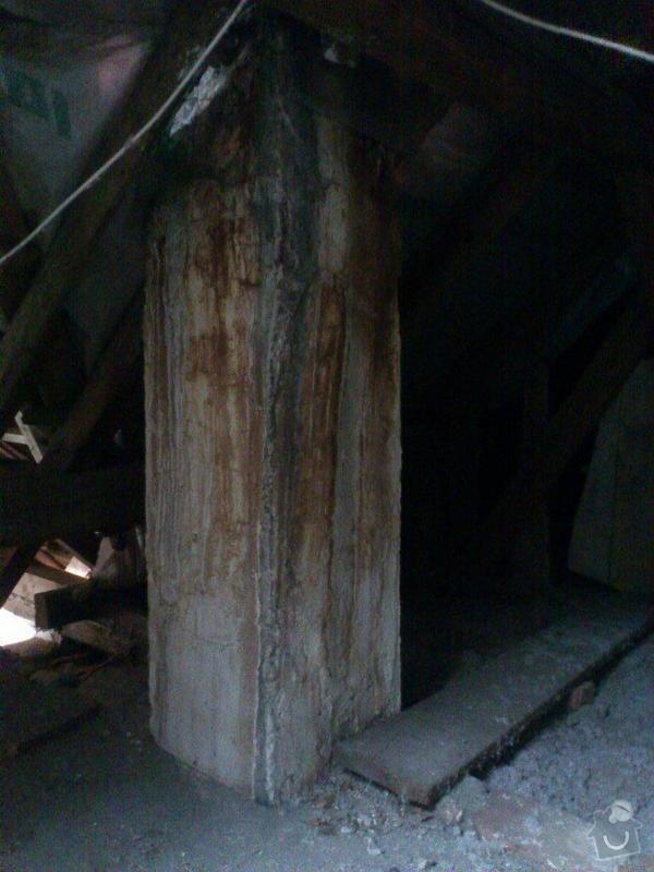 Rekonstrukce a vyvložkování komína: Pohled_z_pudy