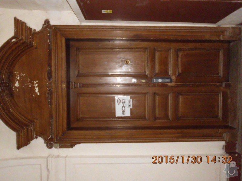 Oprava 2x dveře po vloupání: echo_cele_ns
