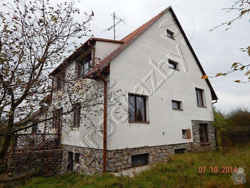 Zateplení rodinného domu, dotace Zelená úsporám: Dum4