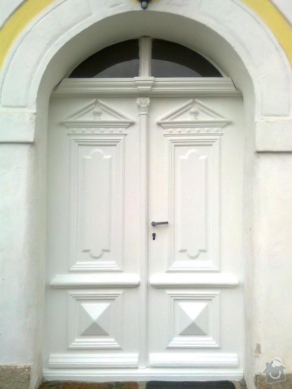 Renovace vchodových dveří: Obraz0098