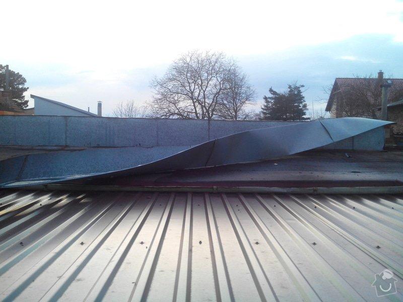 Oplechování střechy: IMG_20150401_190704