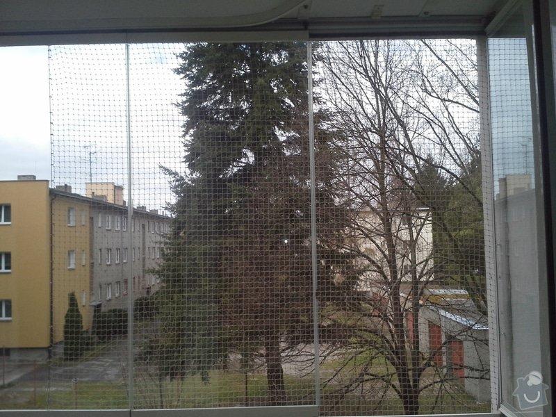 Zasíťování balkonu: 1