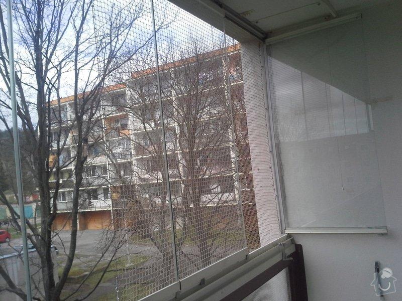 Zasíťování balkonu: 3