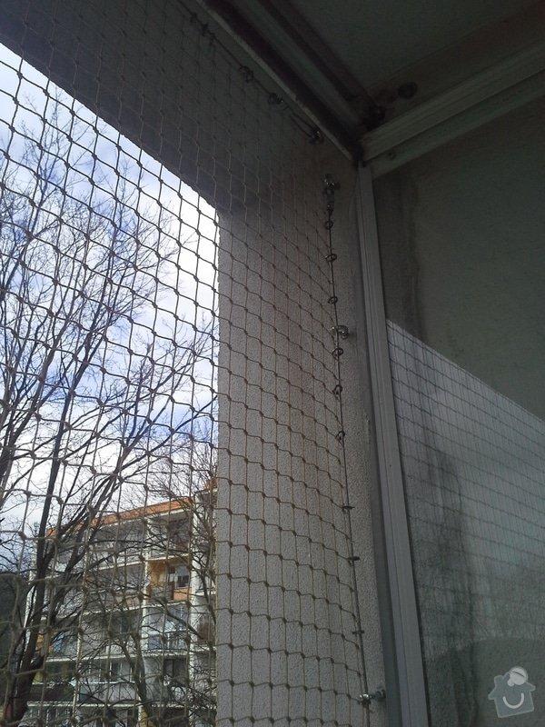 Zasíťování balkonu: 4