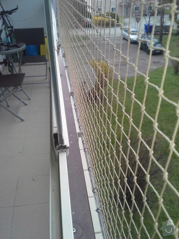 Zasíťování balkonu: 5