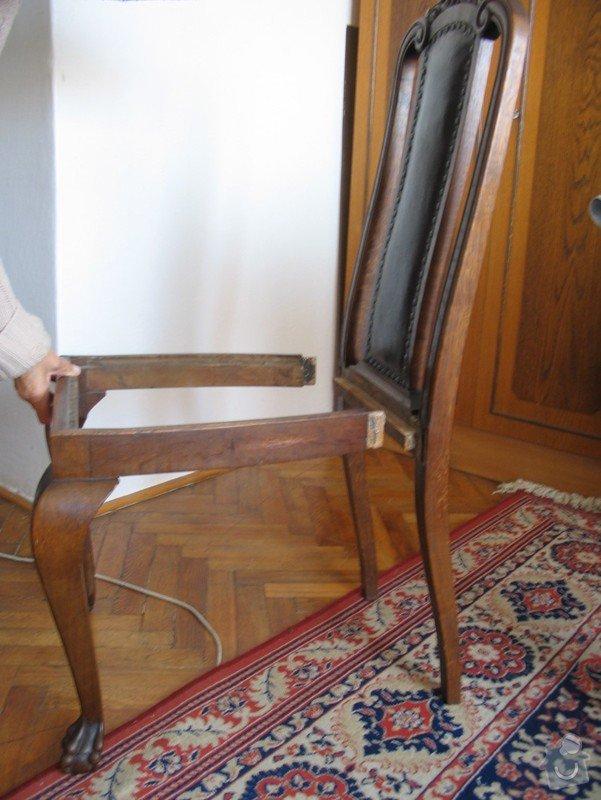 Oprava starých židlí: Zidle