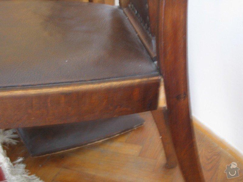 Oprava starých židlí: Zidle2
