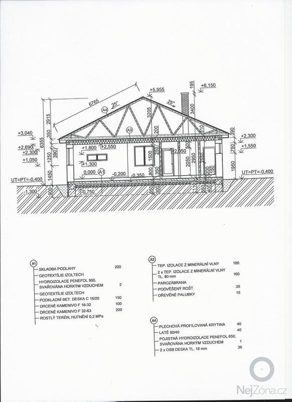 Vazníková střecha a plechová krytina: strecha_1a