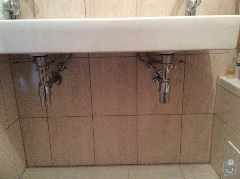 Skříňku pod koupelnové umyvadlo a skříňku pod malé umyvadlo na toaletě: koupelna_II