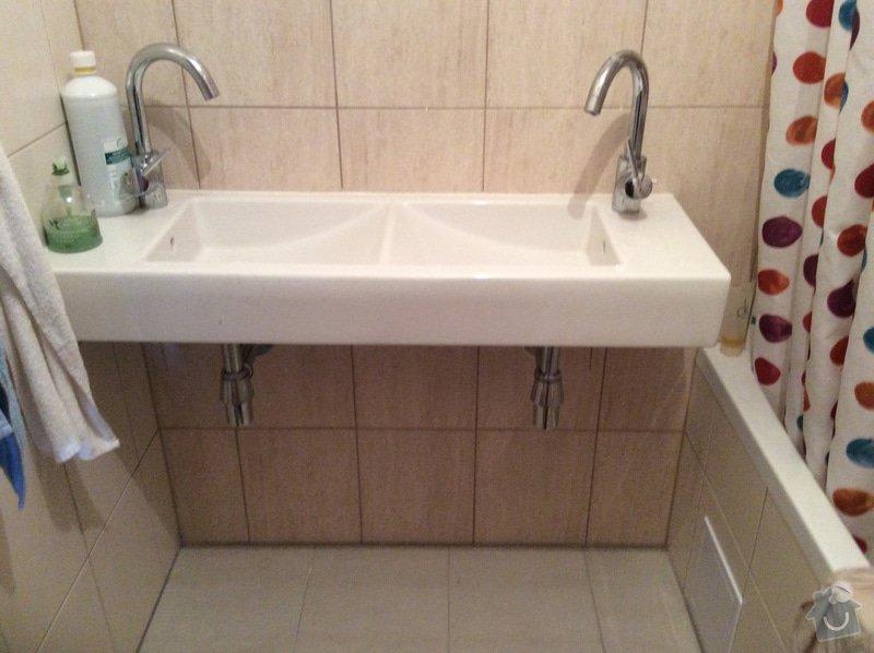 Skříňku pod koupelnové umyvadlo a skříňku pod malé umyvadlo na toaletě: koupelna_I